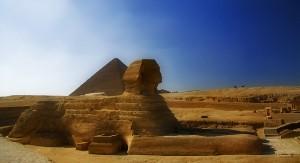 Sfinxen från sidan. Foto: Angelo Domini http://bit.ly/1FXjObs